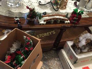 Angle   Box of Christmas Decor