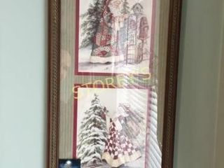 Christmas Picture   10 x 21