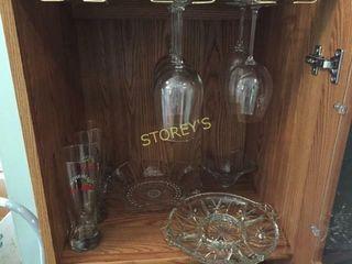 Wine Glasses  Beer Glasses  Dishes  Etc