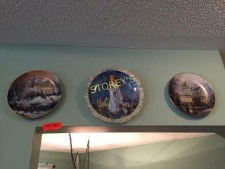 3 Collectors Plates