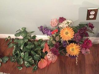 Faux Flowers   Greenery