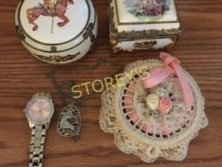 Watch  Necklace  Jewelry Boxes