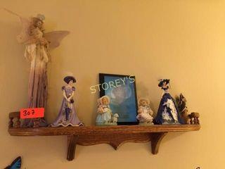 Wall Shelf   Figurines