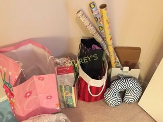 Wrapping Paper  Bags  Giftware  etc