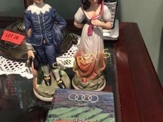 Coasters   2 Figurines