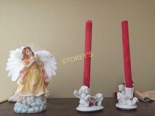 Candle Stick Holders   Figurine