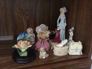 Qty of Asst Figurines