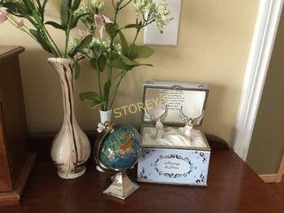 Globe  Angles  Vases