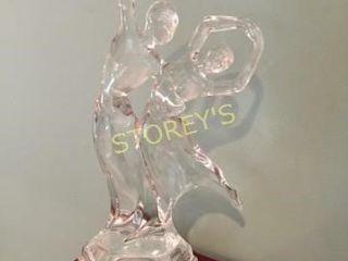 Glass Dancing Figurine
