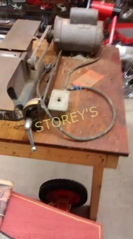 Plainer Jointer w  Table   Works Wells