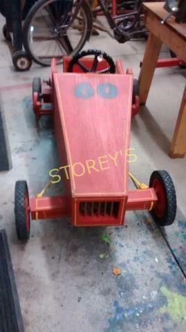 Soap Box Car   Steering wheel Works