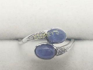 Silver Tanzanite Ring    200
