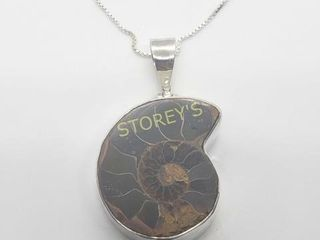Silver Genuine Gemstone 18  Necklace