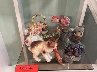 6 Asst Figurines