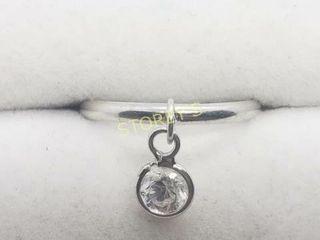 Silver CZ Ring    100