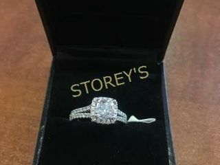 18kt Gold 1 0ct Diamond Ring    18 725
