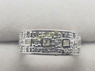 Silver CZ Ring    160