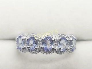 Silver Tanzanite 1 2ct  Ring    300