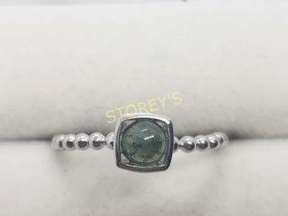 Silver Tourmaline Ring    100