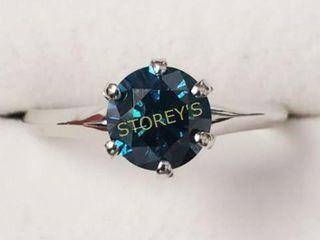 Blue Diamond 1 02ct  Ring    7145