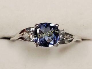 14K Tanzanite   Diamond Ring    2800