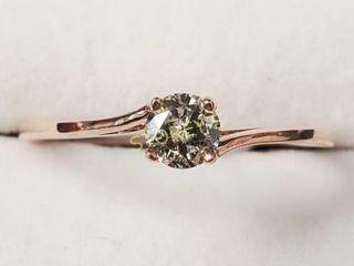 14K Diamond 0 25ct  Ring    1900