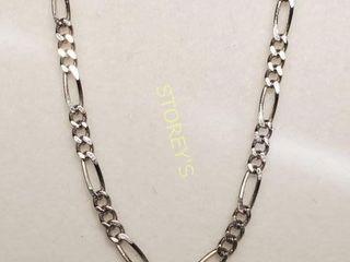 Silver Chain  length 18cm