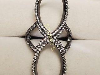 Silver Cubic Zirconia Ring  BK107 199