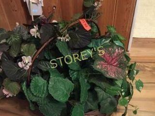 Faux Planter Basket