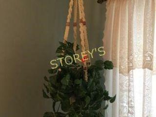 Hanging Faux Planter