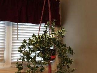 Faux Hanging Planter