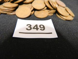Wheatback Pennies   85  Assorted Years