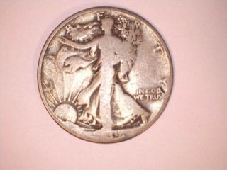 Walking liberty Half Dollar Coin  Date Unknown