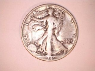 1941 S Mint Walking liberty Dollar Coin