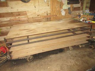 4  X 8  TABlE FOR SHEET METAl