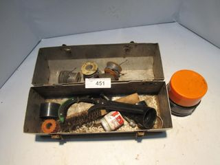 METAl lUNCH BOX W  CONTENTS