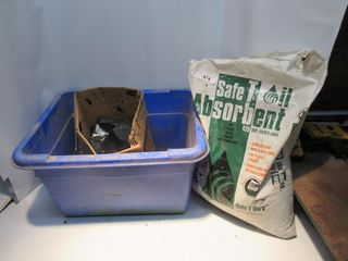 BlUE BOX  OIl ABSORBENT  GARBAGE BAGS