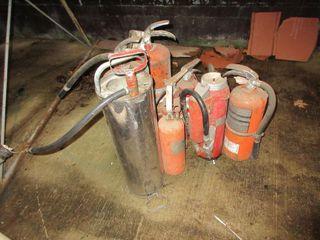 lOT  FIRE EXTINGUISHERS