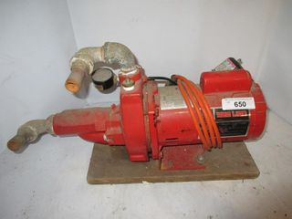 RED WATER PUMP