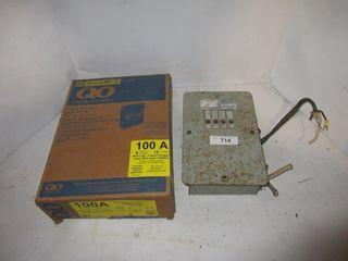 2 BREAKER BOXES