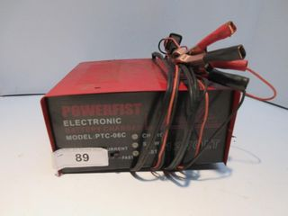 RED BATTERY CHARGER