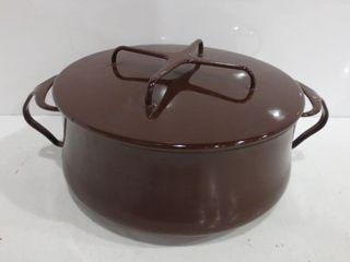 DANSK KOBENSTYlE CHOCOlATE BROWN 8 5  CASSEROlE