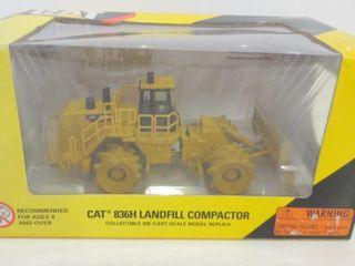 CAT 836H lANDFIll COMPACTOR IN ORIGINAl BOX