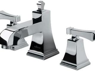 Pegasus 67390 8001 Exhibit 8 Inch Widespread 2 Handle low Arc Bathroom Faucet