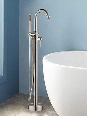 WOODBRIDGE Bathtub Faucet B  F 0001 Brushed Nickel