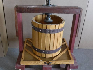 Wooden Fruit  Wine Press
