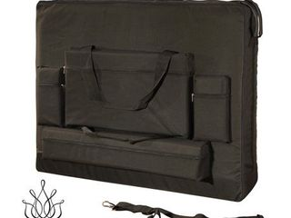 Royal Massage Deluxe Black Universal Oversized Massage Table Carry Case RETAIl  51 49
