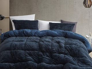 Are You Kidding Bare   Coma Inducer Oversized Comforter   Nightfall Navy  Shams not included  Retail 139 49