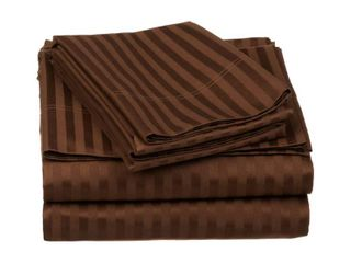 Superior 600 thread count deep pocket chocolate RETAIl  99 99 QUEEN