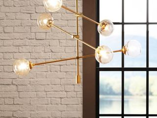 Carson Carrington Tomten 6 light Sputnik Chandelier Retail 175 49